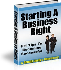 Ebook cover: 101 Tips To Becoming Successful