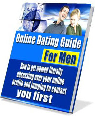 Ebook cover: Online Dating Guide For Men