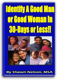 Ebook cover: Identify A Good Man or Good Woman