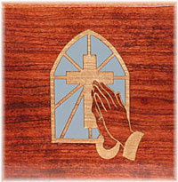 Ebook cover: Prayer and Praying Men