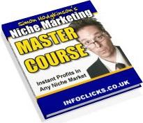 Ebook cover: Niche Marketing Master Course