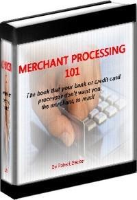 Ebook cover: MERCHANT PROCESSING 101