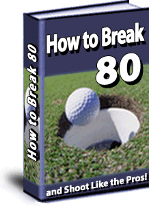 Ebook cover: How To Break 80