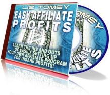 Ebook cover: Easy Affiliate Profits