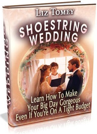 Ebook cover: Shoestring Wedding