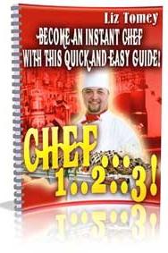 Ebook cover: Chef... 1... 2... 3... !