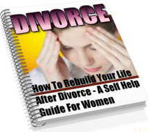 Ebook cover: Divorce - The Self Help Guide For Women