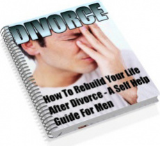 Ebook cover: Divorce - The Self Help Guide For Men