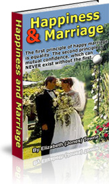 Ebook cover: Happiness and Marriage