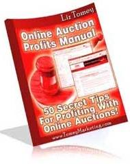 Ebook cover: Online Auction Profits Manual