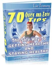 Ebook cover: The Safe Way To Getting Healthy and Staying Healthy