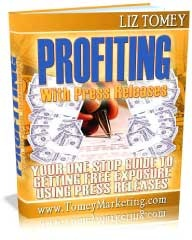 Ebook cover: Profiting With Press Releases