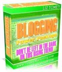 Ebook cover: Blogging Power Package