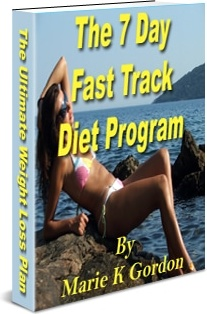 Ebook cover: Seven Day Fast Track Diet Program