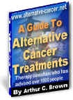 Ebook cover: Complete Guide to the World of Alternative Cancer Therapy