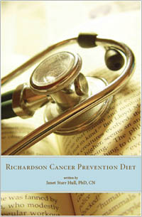 Ebook cover: The Richardson Cancer Diet