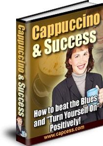 Ebook cover: Cappuccino & Success