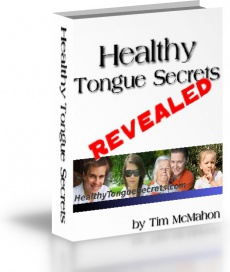 Ebook cover: Healthy Tongue Secrets