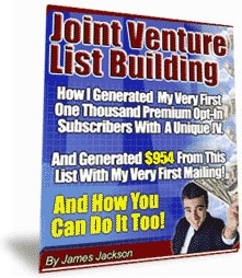 Ebook cover: The Joint Venture List Building