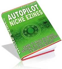 Ebook cover: Autopilot Niche Ezines