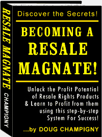 Ebook cover: Becoming A Resale Magnate