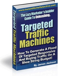 Ebook cover: Targeted Traffic Machines