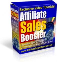 Ebook cover: Affiliate Sales Booster