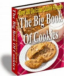 Ebook cover: Big Book Of Cookies