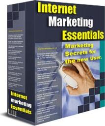 Ebook cover: Internet Marketing Secrets - Essentials Guide