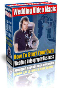 Ebook cover: How to start your own Wedding Video Business