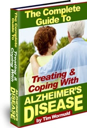 Ebook cover: The Complete Guide To Treating & Coping With Alzheimer's Disease