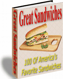 Ebook cover: Great Sandwiches