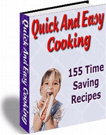 Ebook cover: Quick And Easy Cooking