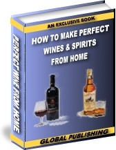 Ebook cover: How To Make Wines And Spirits From Home