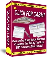 Ebook cover: Click For Cash