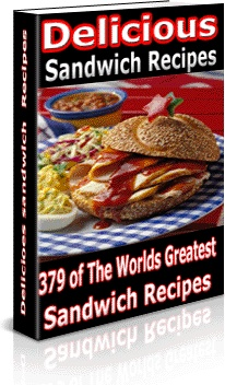 Ebook cover: Sandwiches Recipes