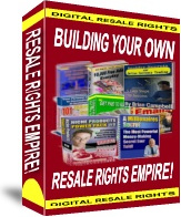 Ebook cover: Resale Rights Empire