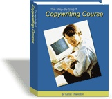 Ebook cover: Copywriting Course