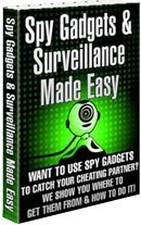 Ebook cover: Spy Gadgets and Surveillance Made Easy