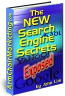 Ebook cover: The New Search Engine Secrets Exposed