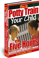 Ebook cover: Potty Train your child