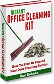 Ebook cover: Instant Office Cleaning Kit