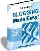Ebook cover: Blogging Made Easy