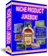 Ebook cover: The Niche Porduct JUKEBOX