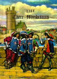 Ebook cover: The Three Musketeers