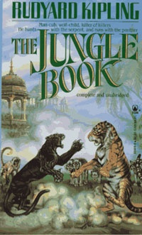 Ebook cover: The Jungle Book