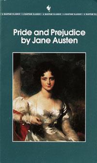 Ebook cover: Pride And Prejudice