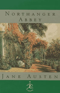 Ebook cover: NORTHANGER ABBEY