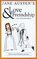 Ebook cover: LOVE AND FRIENDSHIP