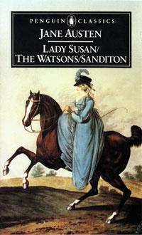 Ebook cover: LADY SUSAN